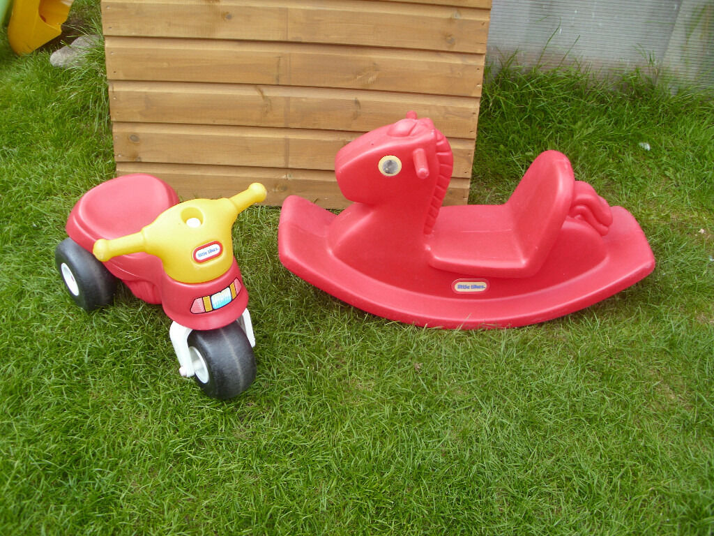 LITTLE TIKES ROCKING HORSE PLUS LITTLE TIKES TRIKEin Bournemouth, DorsetGumtree - LITTLE TIKES ROCKING HORSE WITH DEEP SEAT FOR SAFETY AND A LITTLE TIKES TODDLERS FIRST FOOT TO FLOOR SIT n RIDE TRIKE. BOTH VERY STRONG AND STURDY. SUIT BOY OR GIRL FROM 1 year. £15 FOR THE TWO