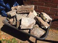 Free Broken Up Concrete / Paving Slabs
