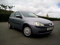 Vauxhall corsa 1 litre very low genuine miles full mot cheap to run and insurance