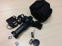 Fuji HS50 EXR 42x ZOOM CAMERA IN EXCELLENT COND WITH EXTRAS