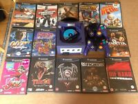 Nintendo Gamecube with games, 2 controllers + memory card