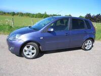 Ford Fiesta 1.2 Zetec 5 door YEARS MOT ~ ONLY 55,000 MILES ~ S/HISTORY ~ 8 Stamps ~ VGC ~ £2,750