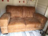 2 seater settee/tv cabinet