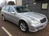 2007 Mercedes Benz Estate 1.8 C180 Kompressor Avantagarde,Full History