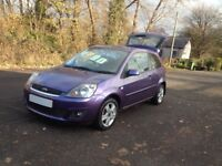 FACE LIFT MODEL FORD FIESTA CLIMATE/LOW MILES/LOW INSURANCE/NEW CAMBELT/IDEAL 1st CAR