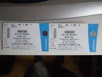Status Quo Nottingham Arena 8th December 2016 Block C Row V - 2 tickets