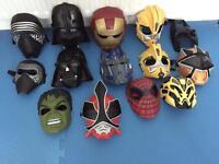 Kids hero masks.