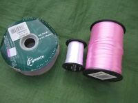 Three Ribbon Reels - All three for £3.00