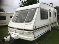 Caravan 4/5/6 berth Swift challenger 490 1998 lovely condition full awning available