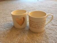 2 x mugs