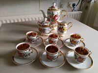 Oriental Tourist Ware Tea Set