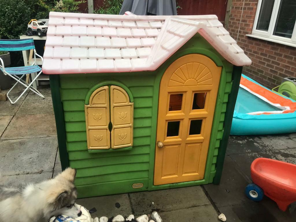 Pleasant Little Tikes Play House Sold In Coventry West Midlands Gumtree Download Free Architecture Designs Saprecsunscenecom