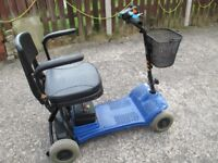 MOTORBILITY SCOOTER FIT IN CAR BOOT TYPE