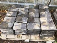 "600 Reclaimed Roof Slates - 10"" x 6"" - UK Delivery"
