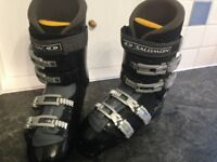 Salomon Mens Ski Boots Size 44, UK 9.5 £80
