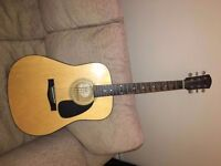 Accoustic guitar for sale: Fender DG-5NAT very good condition £30.00