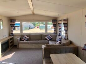 Caravan for sale at Tattershall Lakes Country Park near Skegness Lincolnshire beach fishing