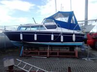 BOAT CABIN CRUISER 22 FT