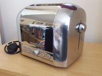 "Magimix ""Le Toaster"", 2 Slice Toaster, Polished Steel"