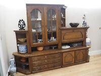 Oak Dresser/cocktail cabinet