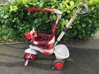Smart Trike Dream in Pink - new price £99.99