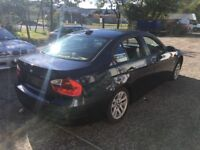 BREAKING FOR PARTS SPARES - BMW E90 320d Saloon SE Black - Engine gone, NSF damaged, seats sold