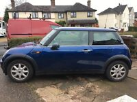 Mini one good condition not till July recent radiator and brand new clutch