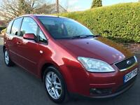 2007 (07) Ford C Max 1600cc**12 Months Mot**10 Service Stamps**Cambelt Replaced**