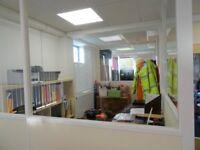 Hedge End M27 Office Space to Let £250+vat pcm inclusive electricity rates parking 01489 787005