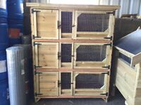 3 Tier Rabbit Hutch for sale