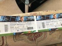 Pro14 Semi Final Tickets Glasgow Warriors v Scarlets
