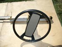 Boat steering wheel & cable