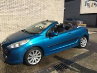 Peugeot 207 convertible 07 plate