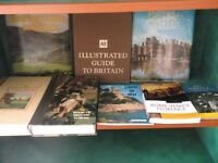 Small collection of travel guides