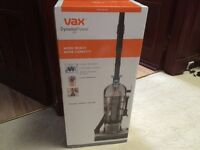 VAX DYNAMO POWER PET UPRIGHT VACUUM CLEANER BRAND NEW TWO YEAR WARRANTY.