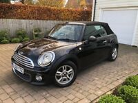 2012 MINI ONE CONVERTIBLE 1.6 - 1YEAR MOT - FULL SERVICE HISTORY - IMMACULATE CONDITION