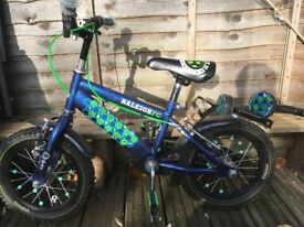 Lovely 14 inch Raleigh boy bike in very good condition
