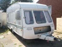 1990 Swift Alouette 5 berth caravan selling for repair spares