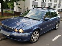 BARGAIN, JAGUAR XTYPE ESTATE, 2.0D TDCI, 50 MPG, MIGHT SWAP