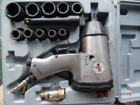 """1/2"""" drive impact wrench and sockets"""