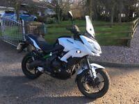 For sale 2016 Kawasaki 650cc motorcycle fgf
