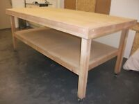 Work Bench very well made. Ideal Workshop, Garage, Shed etc.