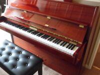 upright modern piano by neindorf