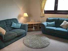 Two bedroomed second floor fully furnished flat available for rent close to Inverurie town centre