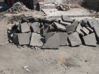 Broken 2 inch slabs / hardcore free to collect from Longford .