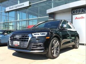 2018 Audi SQ5 Technik W/SPORT DIFFERENTIAL HEAD UP & MUCH MORE!!