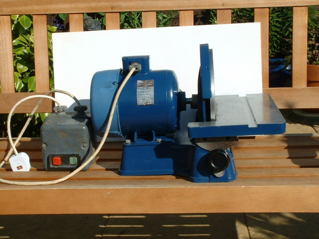 Picador 10 single phase disc sander in fraserburgh for 10 sanding disc for table saw