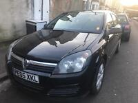 Vauxhall Astra 1.6 / 05 reg / black / petrol / manual