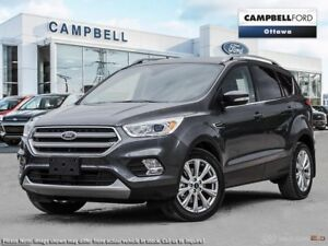 2017 Ford Escape Titanium Former Campbell's demonstrator