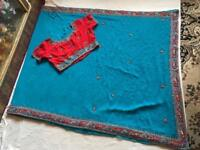 Beautiful Indian Ethnic Bollywood Party Wear Designer Saree used only one time £15